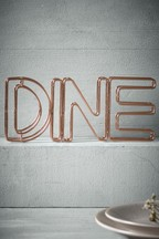 Dine Metal Word