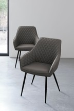 Set Of 2 Hamilton Chairs With Arms