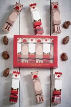 Set of 6 Milk Chocolate Filled Crackers