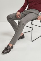 Gingham Skinny Fit Trousers