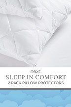 Set of 2 Sleep In Comfort Pillow Protectors