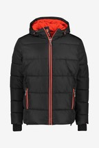Superdry Black Sports Padded Coat