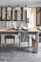 Huxley Grey Extending Dining Table