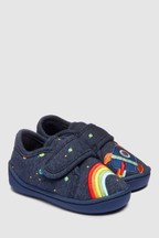 Rainbow Rocket Slippers (Younger)