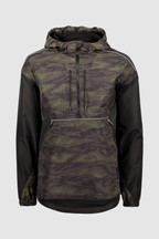 Superdry Black Camo Cagoule Coat