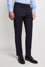 Moss 1851 Performance Tailored Fit Navy Trouser