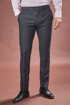 Marzotto Signature Textured Suit: Trousers