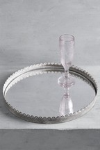 Galvanized Mirror Tray
