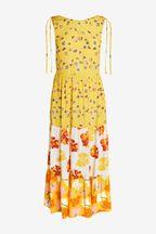 Mix/Caroline Issa Mix Print Floral Maxi Dress