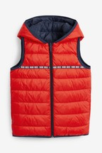 BOSS by Hugo Boss Navy Padded Gilet