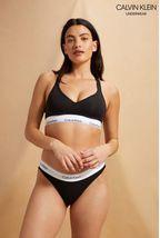 Calvin Klein Black Modern Cotton Bikini Brief