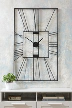 XL Rectangle Outdoor Wall Clock
