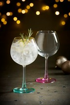 Set of 2 Pastel Gin Glasses