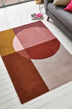 Retro Colourblock Rug