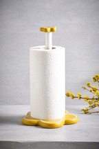 Retro Flower Kitchen Roll Holder