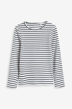 Long Sleeve Rib T-Shirt (3-16yrs)