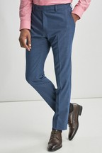 Stretch Marl Suit: Trousers
