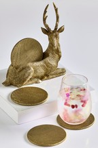 Stag Coaster Holder