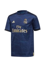 adidas Navy Real Madrid 2019/2020 Away Jersey Youth