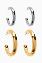 Hoop Earrings Two Pack