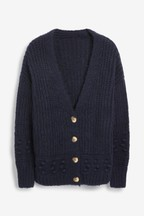 Bobble Detail Cardigan