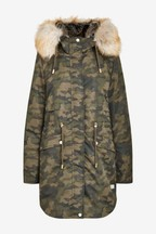 Mix/Parka London Caversam Camo Parka