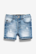 Distressed Denim Shorts (3mths-7yrs)
