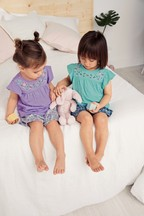 Floral Short Pyjamas Two Pack (9mths-8yrs)