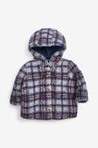 Checked Borg Jacket (0mths-2yrs)