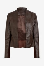 Formal Leather Jacket