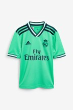adidas Green Real Madrid 2019/2020 3rd Jersey Youth