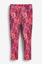 Print Sports Leggings (3-16yrs)