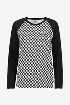Vans Check Raglan Long Sleeve T-Shirt