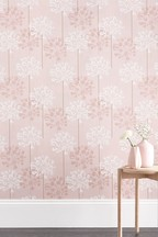 Paste The Wall Embroidered Allium Wallpaper