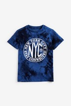 Tie Dye Print Graphic T-Shirt (3-16yrs)