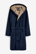 Borg Lined Dressing Gown