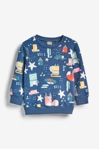 All Over Print Character Sweat (3mths-7yrs)
