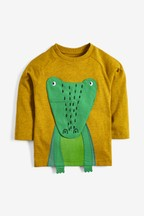 Long Sleeve Interactive Crocodile T-Shirt (3mths-7yrs)