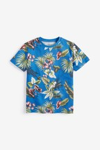 All Over Print Floral T-Shirt (3-16yrs)