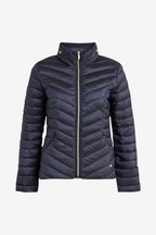 Short Wadded Packable Jacket