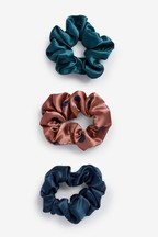 Polka Dot Scrunchies Three Pack