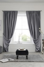Reversible Slot Top Curtains