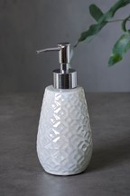 Lustre Embossed Soap Dispenser