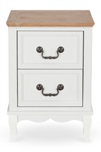 Evie 2 Drawer Bedside Table