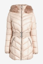 Barbour® International Belted Highpoint Quilt Coat