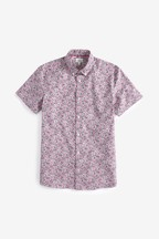 Liberty Fabric Short Sleeve Shirt