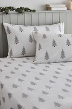 Festive Trees Fitted Sheet