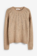 Embellished Crew Jumper