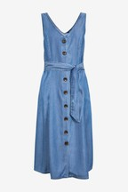 Button Through Tencel® Dress