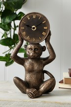 Monkey Mantle Clock